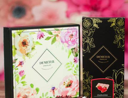 Minőségi kézműves csokoládékat vásárolhat az áruházból.